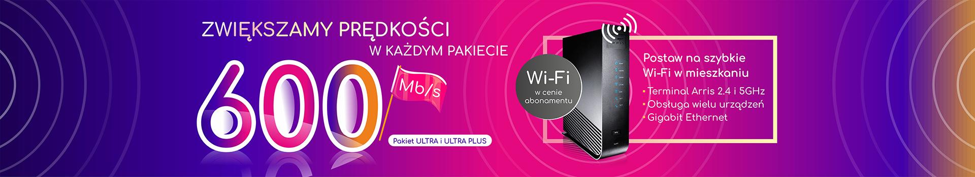Superszybki internet Częstochowa Tysiąclecie