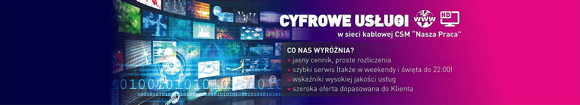 Telewizja cyfrowa Częstochowa Tysiąclecie